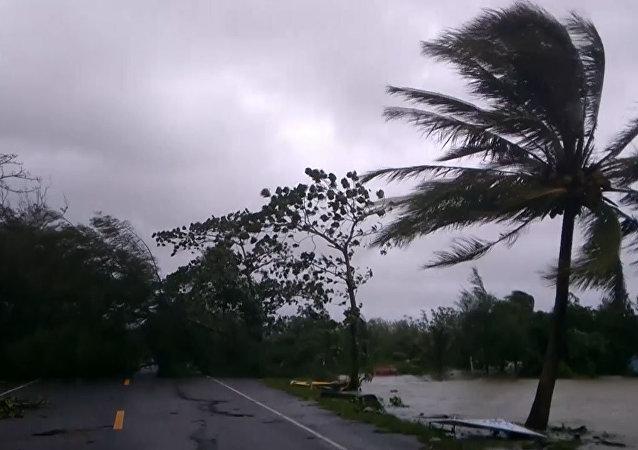 El huracán Pabuk no deja piedra sobre piedra en Tailandia
