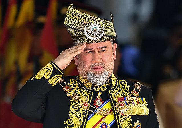 Mohamed V, rey de Malasia (archivo)