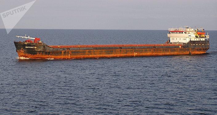 Un buque de carga Volgo Balt (archivo)