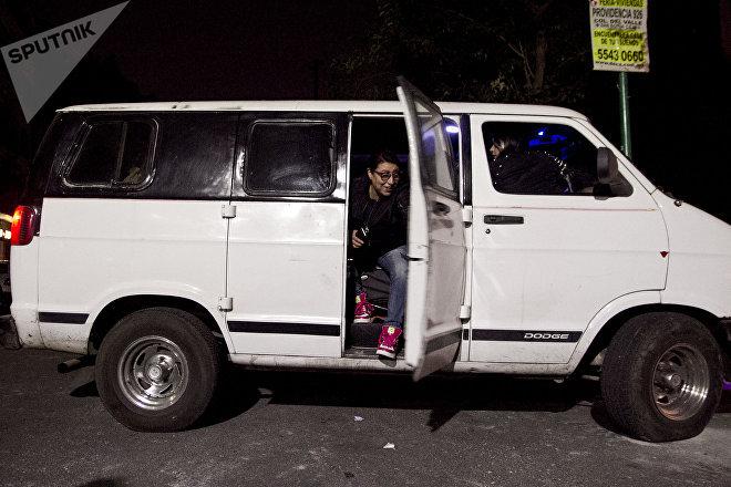 Camioneta del Loko, utilizada para repartir juguetes durante el día de reyes