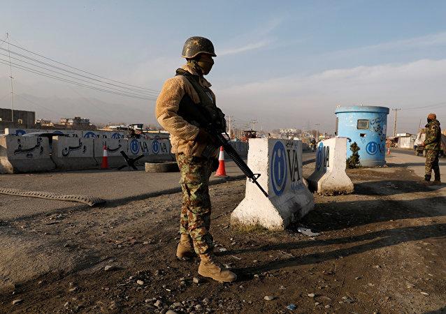 Fuerzas de seguridad de Afganistán (imagen referencial)