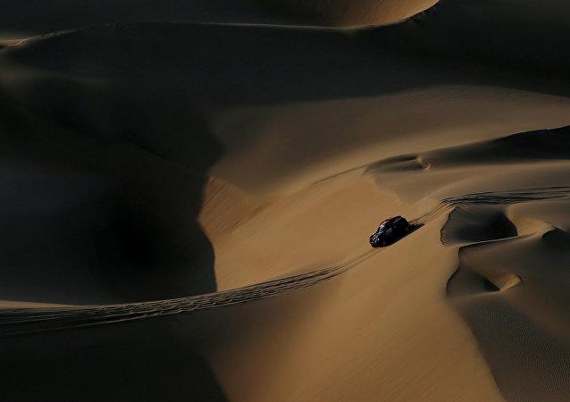 Automóvil del piloto argentino Orlando Terranova