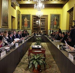 La cumbre del Grupo de Lima en la capital peruana (archivo)