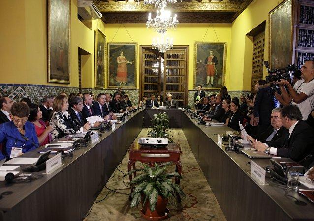 La cumbre del Grupo de Lima en la capital peruana