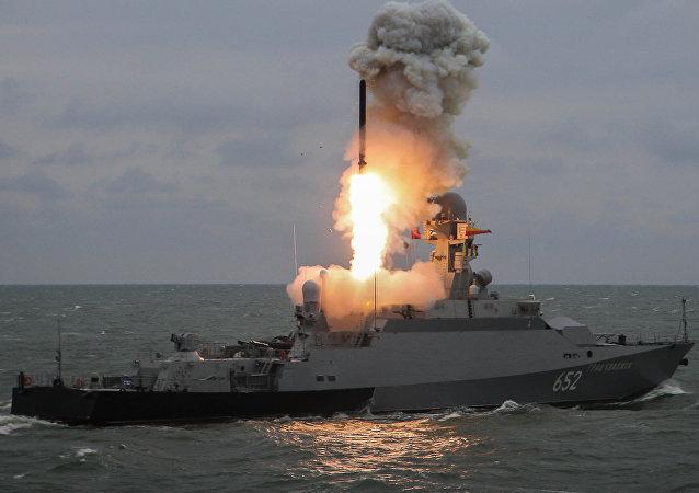 Lanzamiento del misil Kalibr