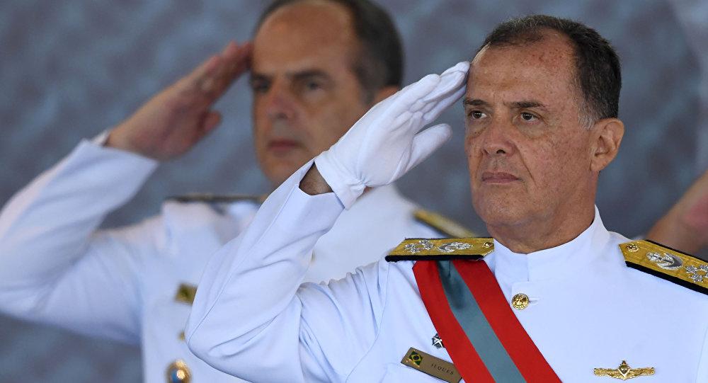 Ilques Barbosa Júnior, el nuevo comandante jefe de la Marina de Brasil