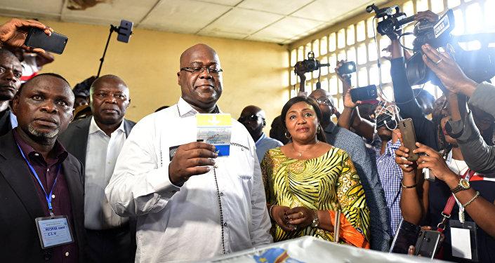 Félix Tshisekedi, presidente electo de la República Democrática del Congo