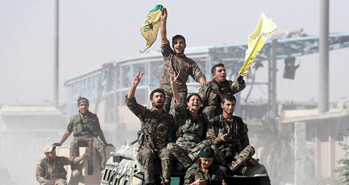Las milicias kurdas