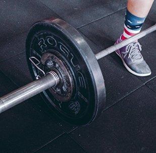 Una atleta, imagen referencial