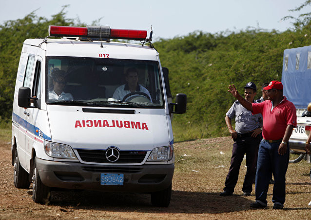 Ambulancia cubana