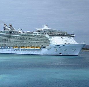 Buque de crucero Oasis of the Seas, foto archivo