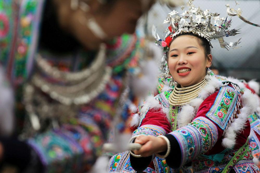 Festividades de Año Nuevo en la provincia china de Guangxi