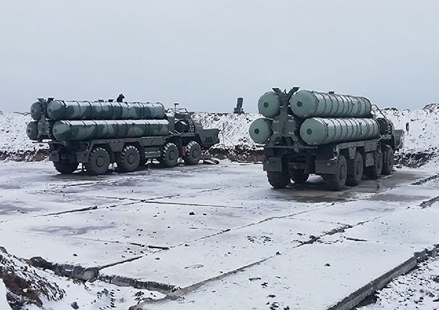 Sistemas de defensa antiaérea S-400