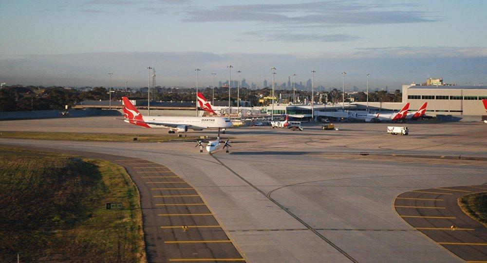 El aeropuerto de Melbourne