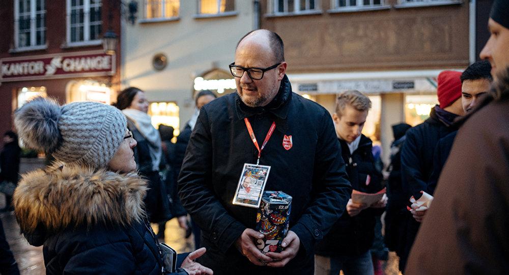 Pawel Adamowicz, el alcalde de Gdansk, Polonia