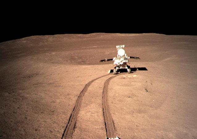 El rover de la misión Chang'e-4