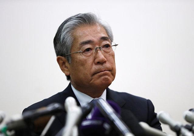 Tsunekazu Takeda, jefe del Comité Olímpico de Japón