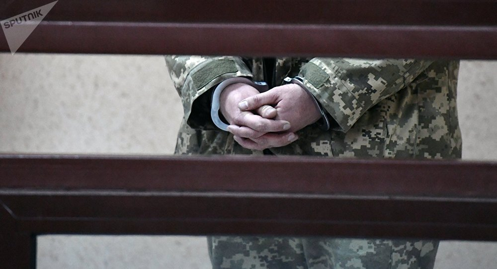 Uno de los marineros ucranianos arrestados por violar la frontera con Rusia