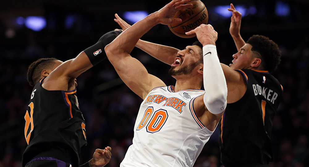 Enes Kanter, baloncestista de la NBA