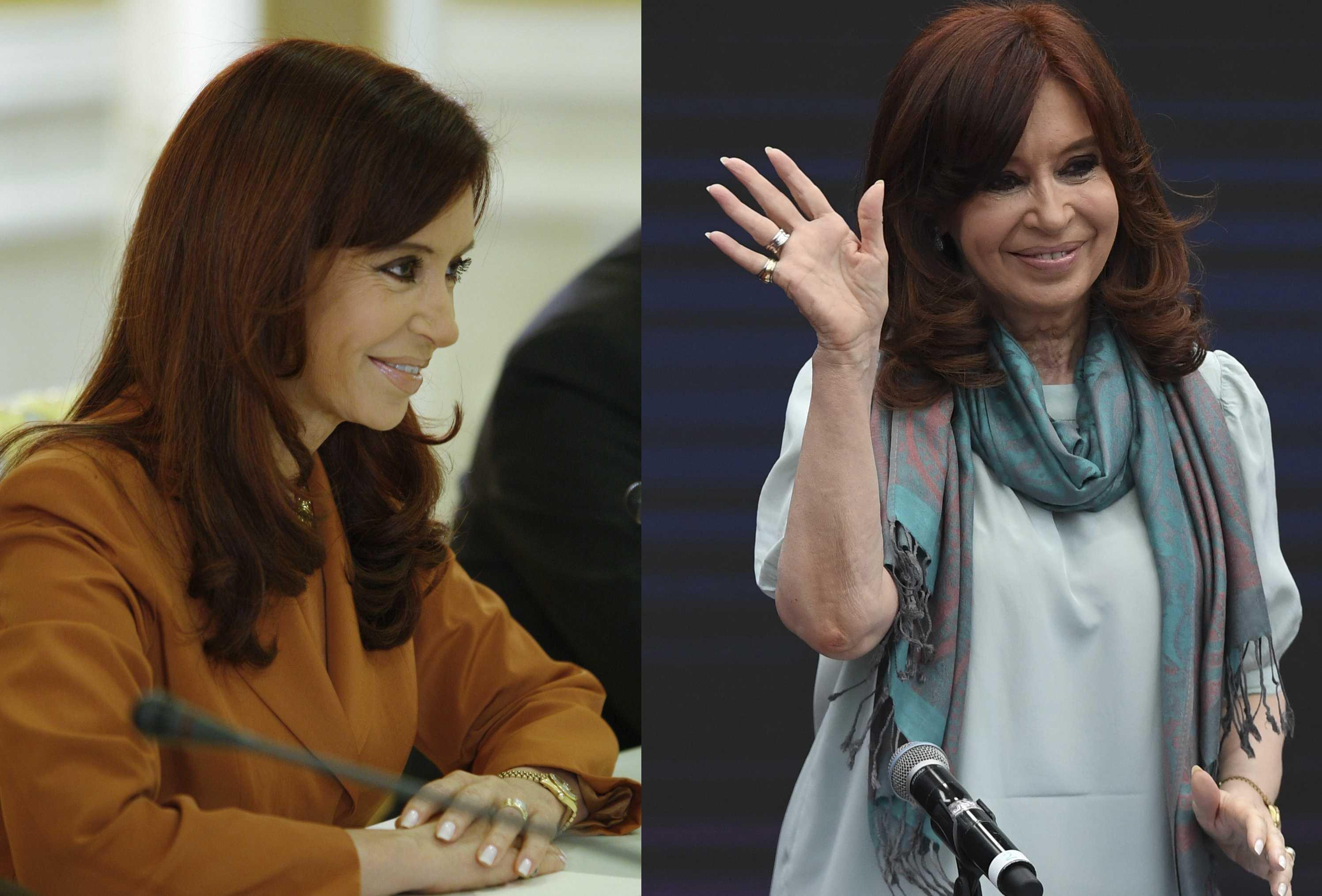 La expresidenta argentina Cristina Fernández de Kirchner, en el 2008 / 2018
