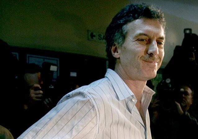 Mauricio Macri en el 2007