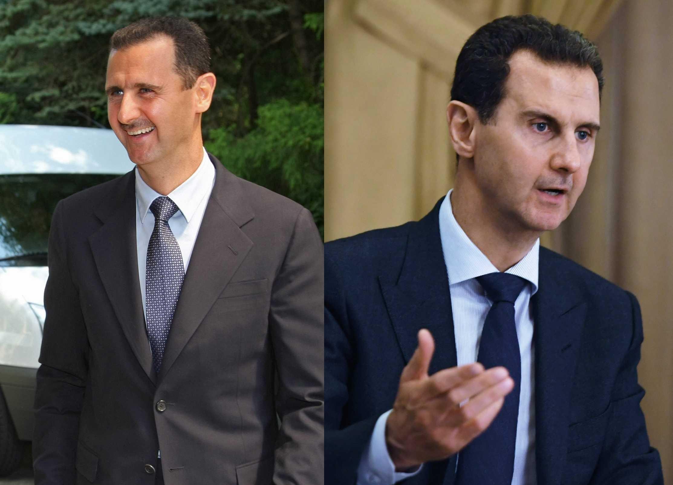 El actual presidente de Siria, Bashar Asad, en el 2008 / 2018