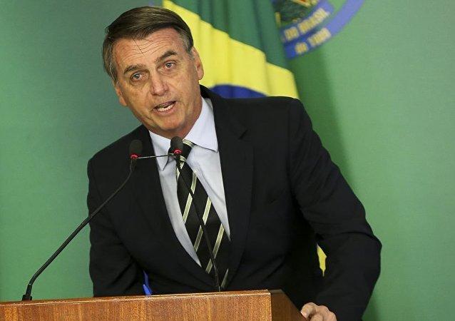 Jair Bolsonaro, presidente de Brasil (archivo)