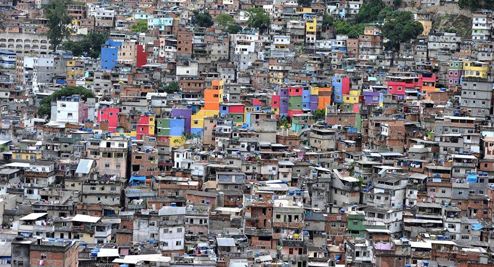 Una favela de Río de Janeiro