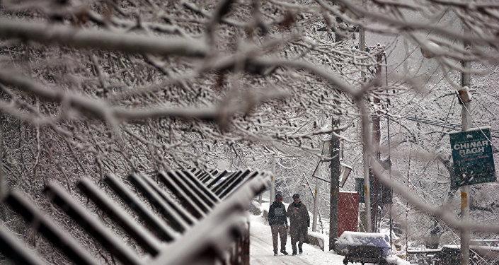 La nieve en la India