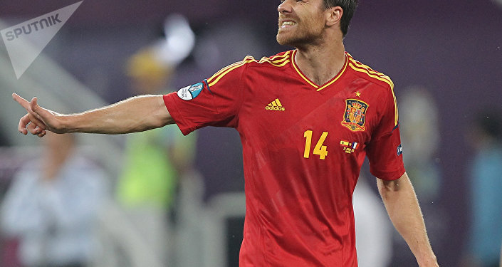 El exfutbolista Xabi Alonso