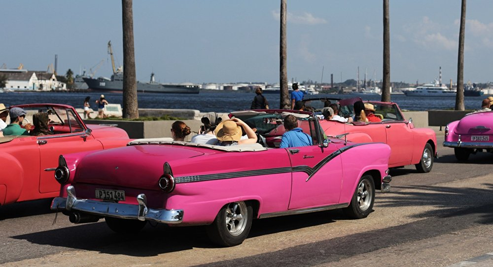 Los coches 'retro' en la Habana, Cuba