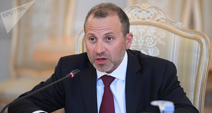 Yebran Basil, Ministro de Exteriores de Líbano (archivo)