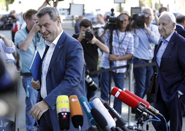 Markus Söder, el nuevo presidente de la CSU de Baviera