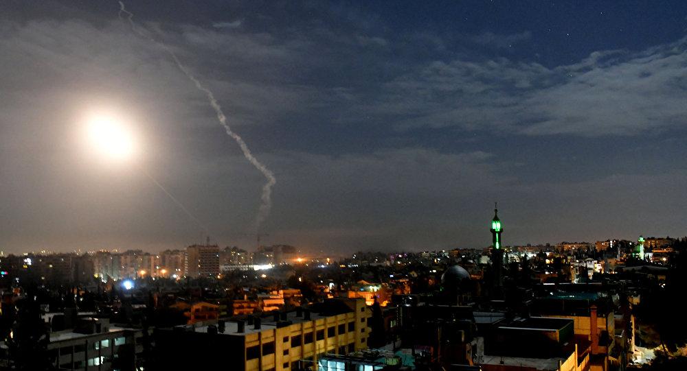 Ataque israelí contra Damasco, Siria