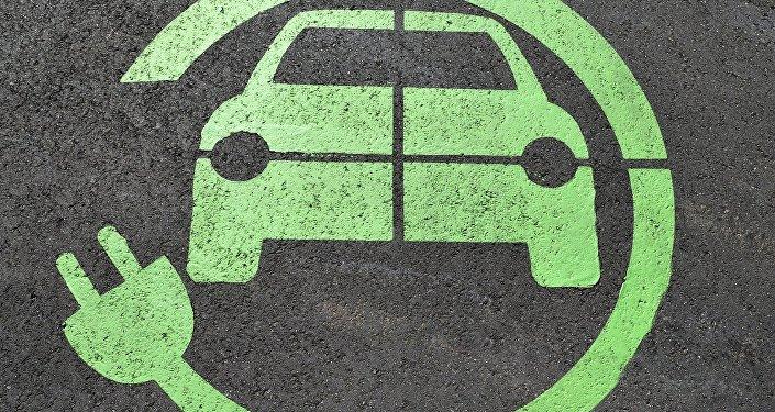 Autos eléctricos (ilustración)