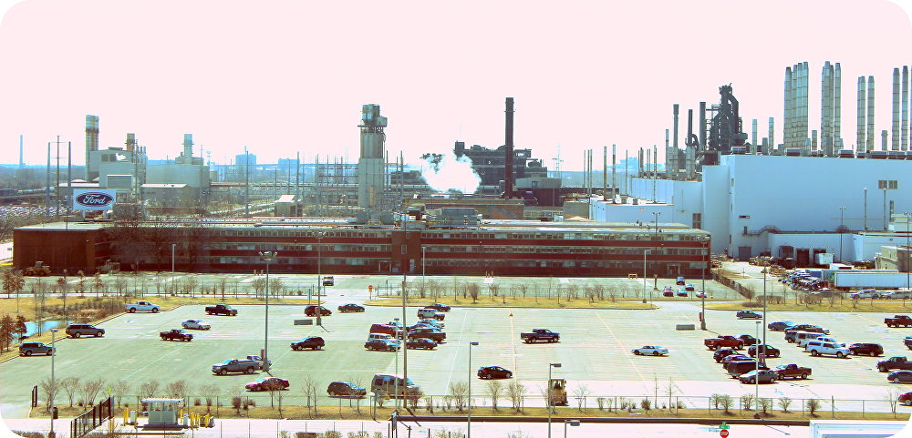 Ford River Rouge Complex en Dearborn (EEUU)