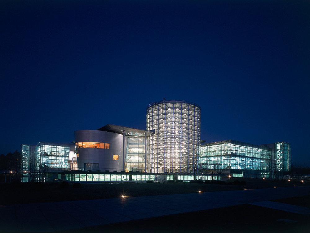 La fábrica transparente de Volkswagen en Dresde