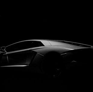 Un Lamborghini, foto archivo