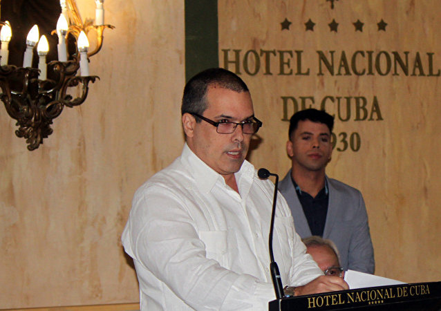 Luis Enrique González, presidente de la agencia de noticias Prensa Latina