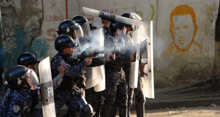 Situación en Caracas tras el alzamiento militar