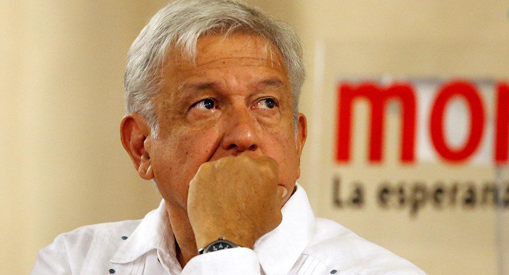 Andrés Manuel López Obrador, candidato a las elecciones presidenciales de México
