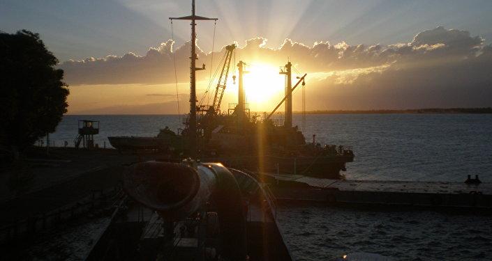Base naval rusa 954 en Kirguistán