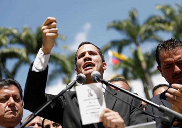 Juan Guaidó, presidente de la Asamblea Nacional de Venezuela (archivo)
