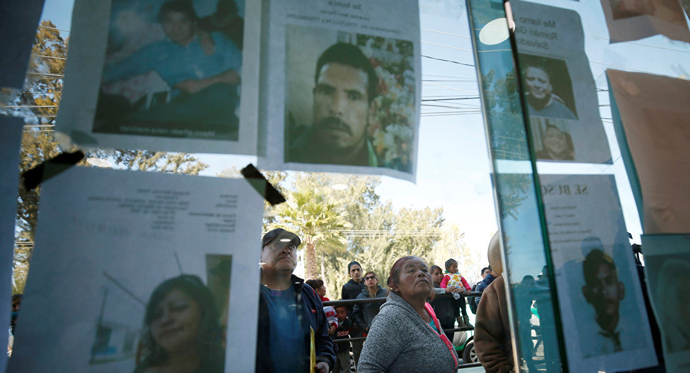 Los retratos de las víctimas de la explosión del ducto en México