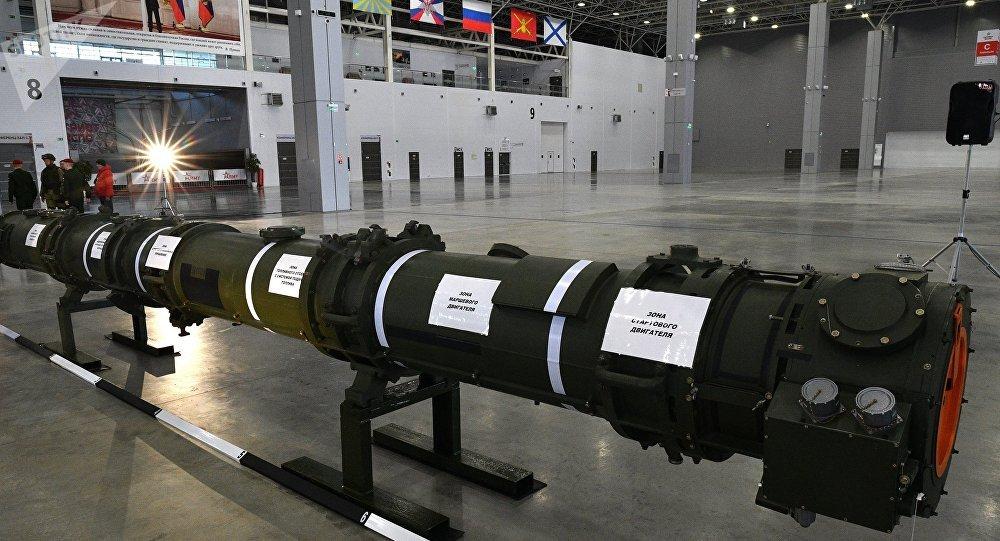 La exposicion del misil ruso 9M729