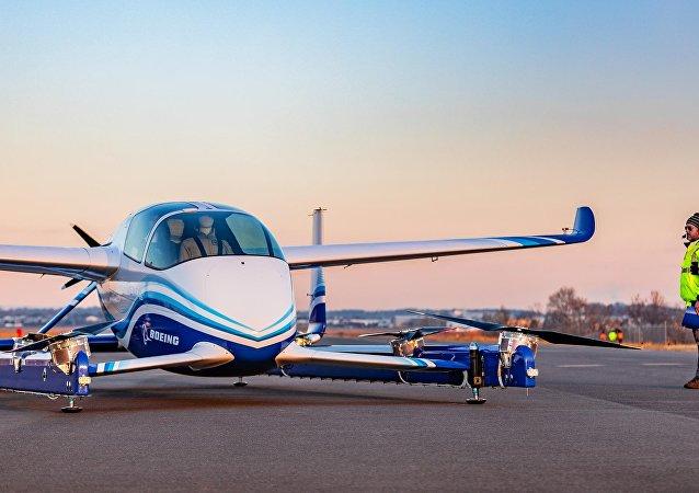 Avión autónomo de pasajeros (PAV) de Boeing