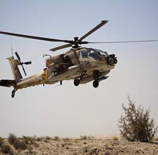 Helicóptero estadounidense AH-64 Apache