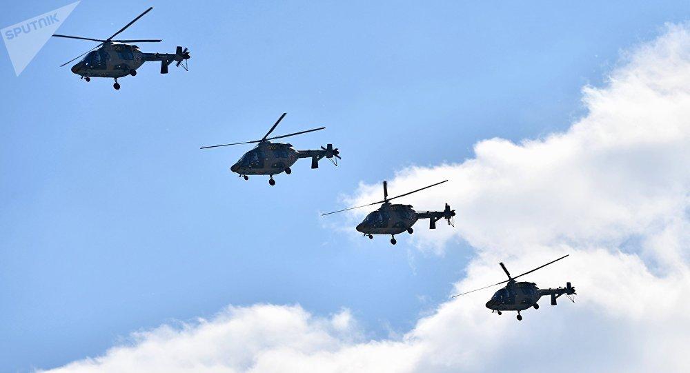 Los helicópteros Ansat