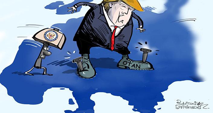 El Congreso de EEUU engancha a Trump a la OTAN