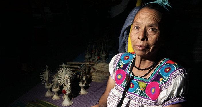 Los representantes de las comunidades indígenas en Ciudad de México